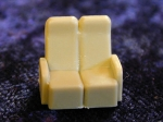 No# 5001 HO Scale Streamliner Coach Seats