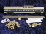 No# 9605 Con-Cor Dome Coach Car: 85' LW fluted Budd