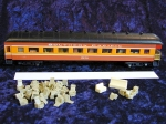 No# 9554OP Model Power Harriman Parlor Observation Car: HW